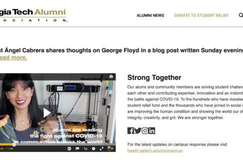 Georgia Tech Alumni Magazine Interview