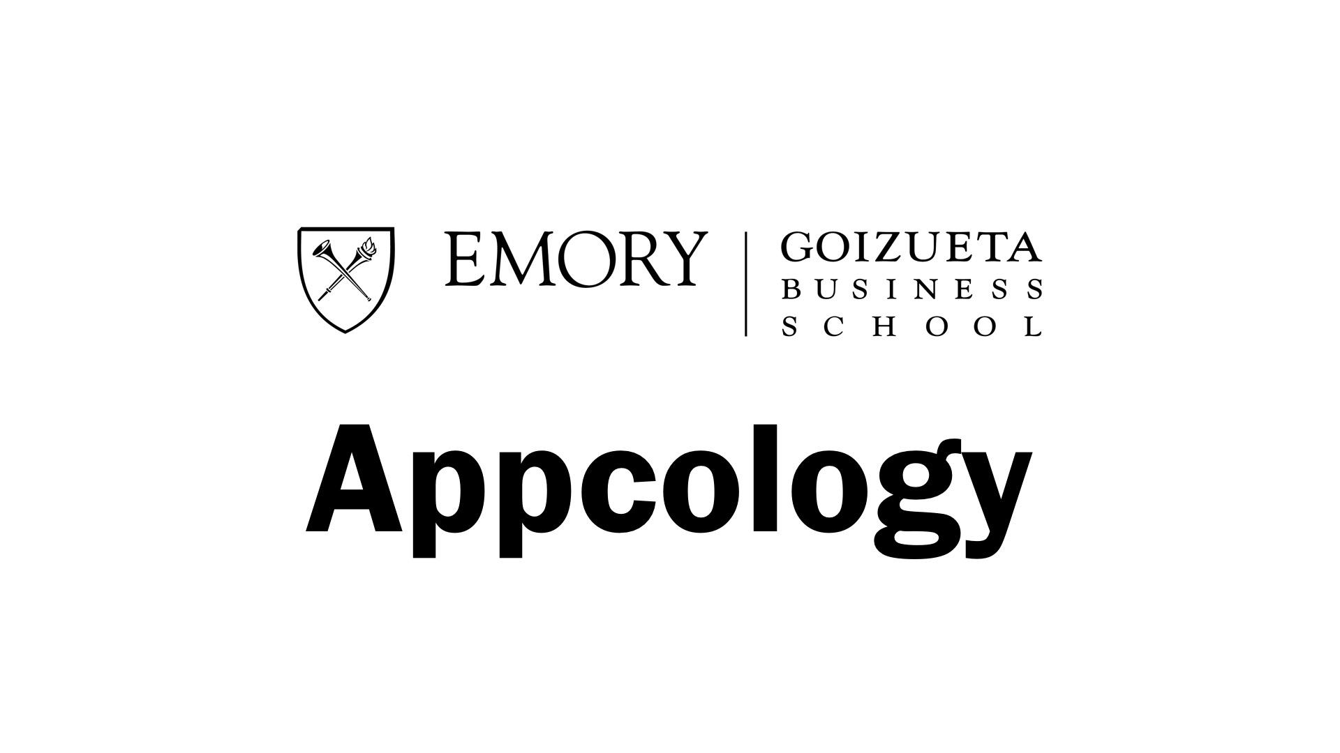 Appcology Speaker at Emory University