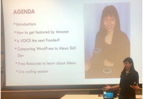 Voice Innovation Speaker #AmazonAlexa #GoogleHome